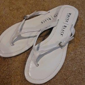 White House Black Market Flip Flop Sandals